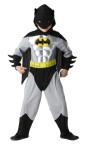 RUBIE'S Faschingskostüm - Batman Metallic, Kinder, Größe: S