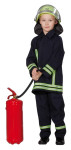 RUBIE'S Faschingskostüm - Feuerwehrmann 2-teilig, Größe: 104