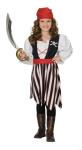 RUBIE'S Faschingskostüm - Piraten Girl 2-teilig, Größe: 128