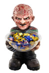RUBIE'S Freddy Candy Bowl Holder, Süßigkeitenspender, Halloween Deko Figur