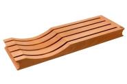 Scanwood Messerauflage für Schublade Buchenholz 39 x 13 x 3,2 cm