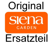 SIENA-Ersatzteil Dach Pavillon Dubai 3 x 4 grau 100% Polyester, grau