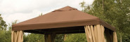 SIENA-Ersatzteil Dach Pavillon Toronto mocca