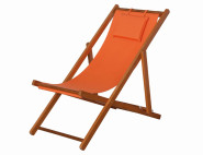 SIENA GARDEN Faro Strandliegestuhl aus Hartholz