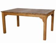 SIENA GARDEN Gartentisch, Ausziehtisch Falun aus FSC® 100% Akazienholz, geölt, ca. 150/175/200 cm x 100 cm x 74 cm