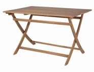 SIENA GARDEN Gartentisch, Klapptisch Falun aus FSC® 100% Akazienholz, geölt, ca.120 cm x 80 cm x 74 cm