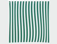 SIENA GARDEN 2 Seitenteile für Faltpavillon grün/weiß, 1 x mit Fenster und 1 x ohne Fenster, aus Polyester in blau/weiß