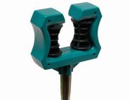 SIENA GARDEN Schlauchführungspflock mit Metallspieß, Farbe: schwarz/grün aus Kunststoff