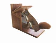 SIENA HOME Futterstation für Eichhörnchen, Hartholz