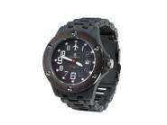 Smith and Wesson, schwarze Uhr, Kunststoffarmband, WEEE-Reg.-Nr. DE93223650
