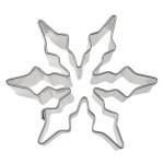 Städter Eiskristall 6 cm Ausstechform aus Weißblech