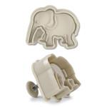 Städter Elefant 6 cm Ausstechform aus Kunststoff