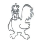 Städter Gockel 8 cm Ausstechform aus Edelstahl