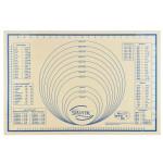 Städter Silikon Unterlage Maxi 60 x 40 cm, Ausroll- und Backmatte