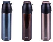 Steuber 3er Set Thermo Trinkflaschen m. Karabiner, 500 ml