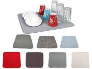 Steuber Abtropfmatte für Geschirr, 40 x 45 cm, verschiedene Farben wählbar