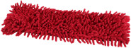 Steuber Ersatzbezug für Microfaser Chenille Wischmop Bodenwischer, rot
