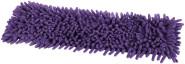 Steuber Ersatzbezug für Microfaser Chenille Wischmop Bodenwischer, lila