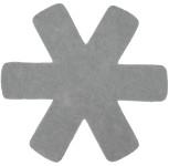 Steuber 3-tlg. Pfannenschutz grau, 100% Polyester, Beschichtungs-Schutz, schützt Pfannen vor dem Verkratzen, Kratzschutz