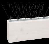 Taubenabwehr transparent, 2er Set mit ca 1 m, aus ASA