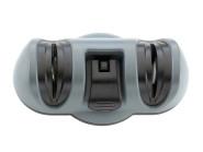 Taylor's Eye Witness Messerschärfer, 2-stufig, Diamant- und Keramik, Kunststoffgehäuse mit Saugnapf-Befestigung