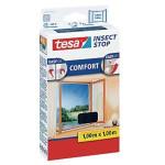 TESA Fliegengit.anthra.100x100 Comfort-Fenster