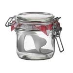 TESTRUT Drahtbügelglas 255 ml mit Gummiring, 1 Stück, Einzelglas