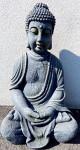 Tinas Collection Buddha Skulptur für Indoor oder Outdoor, 65 cm groß