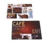 TOP STAR - Platzmatte 43 x 28 cm Kaffeedekor 2-fach