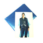 TOP STAR - Regenponcho transparent mit Kapuze