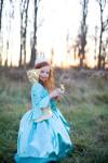 Trullala Kinder-Marie-Antoinette-Kleid, Faschingskostüm Größe: M