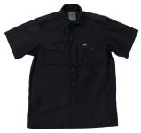 US Hemd, kurzarm, schwarz, Größe XL