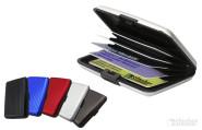 WALLET Kartenetui aus Aluminium, für 8 Karten im EC-Format
