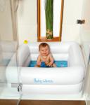 WEHNCKE Planschbecken BABY WATCH für die Duschwanne