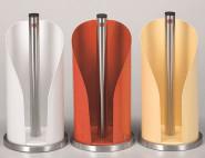 WESCO Küchenrollenhalter weiß Edelstahl/Stahlblech