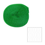 XCLOU GARDEN Vogelschutznetz, Vogelnetz, grün, 4 x 10 m, Masche 8 x 8 mm