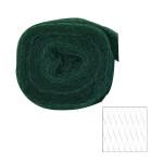 XCLOU GARDEN Vogelschutznetz, Vogelnetz, schwarz, 2 x 10 m, Masche 20 x 20 cm