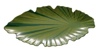 APS Blattschale, Melamin, grün, 40 x 18,5 cm, H: 3,5 cm