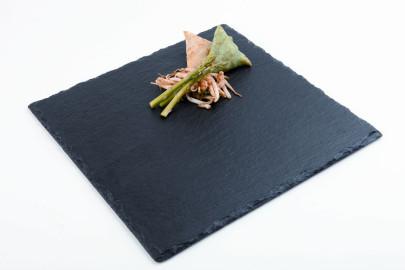 APS Naturschieferplatte ca. 25 x 25 cm quadratisch Materialstärke 4-7 mm