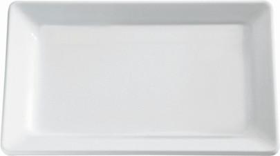 APS Tablett GN 1/1 -PURE- ca. 53 x 32,5 cm, Höhe 3 cm Melamin, weiß 1A Qualität, original Melamin spülmaschinenfest nicht mikrowellengeeignet