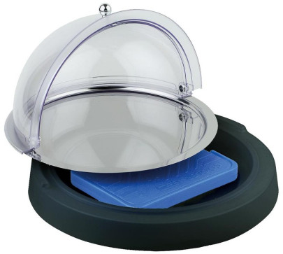 APS Top Fresh Set -Top Fresh- ca. Durchmesser 42 cm, Höhe 6 cm kühlbar, ohne Käseglocke