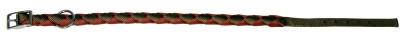 Halsband für Hunde, ARIZONA, 15 mm / 49 cm dunk...