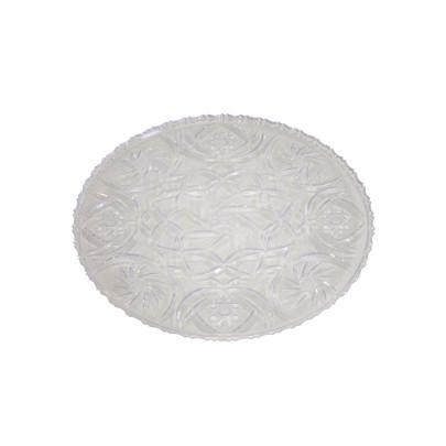 AXENTIA Kuchenplatte Eva rund 24 cm Plastkristall
