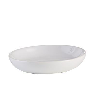 AXENTIA Seifenschale Leander Keramik weiß