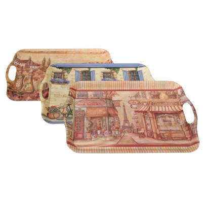 AXENTIA Tablett Kunststoff 46 x 32 cm Romantik ...
