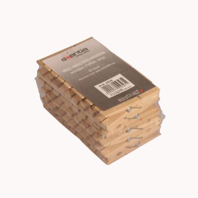 AXENTIA Wäscheklammern Holz 50 Stück