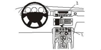 Brodit Proclip passend für Land Rover Range Rov...