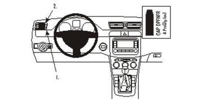 Brodit Proclip passend für Volkswagen Passat 05...
