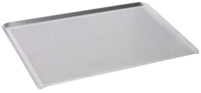 Contacto Backblech, perforiert GN 1/1 mit schräg zulaufendem Rand aus Aluminium