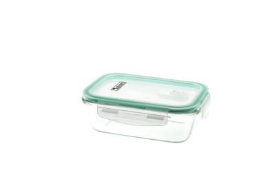culinario Cloc Frischhaltedose aus Glas, 620 ml, rechteckig, Glas bis 400°C 620   1 Frischhaltedose
